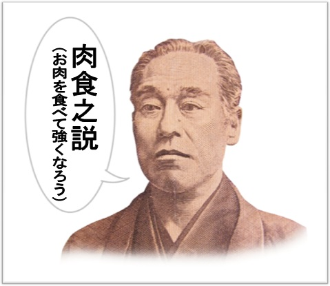 福沢諭吉 肉食の説